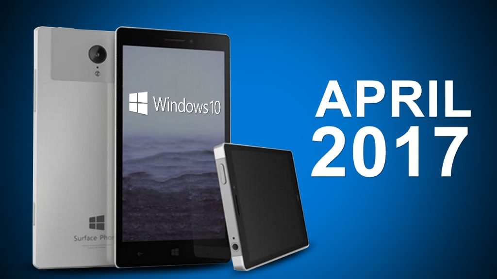 Windows 10 Mobile e Surface Phone
